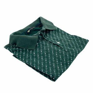 Wedge Golf & Beyond Men's Polo Green Collared Cott